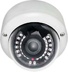 Okina USA 3-AXIS Varifocal Effio-E Vandalproof IR Dome Camera sony effio 680 TVL