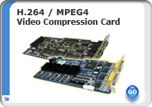 Okina USA H.264 / MPEG4 Hardware Compresion Card