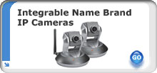 Okina USA Integrable name brand ip cameras
